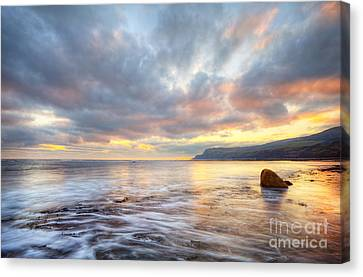 Robin Hood's Bay Canvas Print by Martin Williams