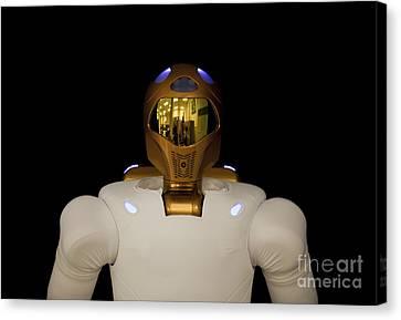 Robonaut 2, A Dexterous, Humanoid Canvas Print by Stocktrek Images