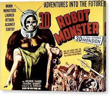 Robot Monster, 1953 Canvas Print