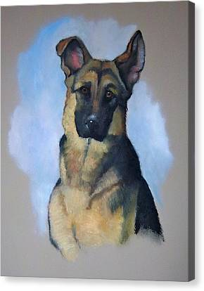 Rob's Dog Canvas Print by Joyce Geleynse