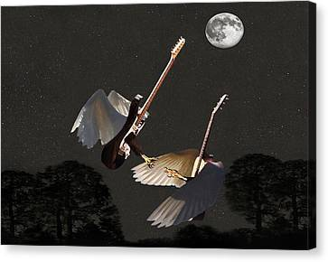Rock Angels  Canvas Print by Eric Kempson