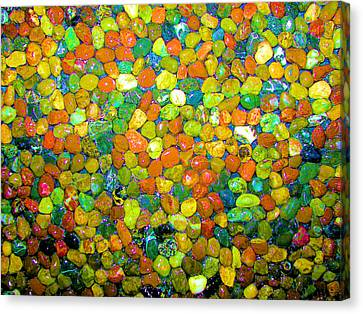 Canvas Print featuring the photograph Rock Candy by Carolyn Repka