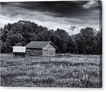 Rock Creek Station Canvas Print by Joshua House