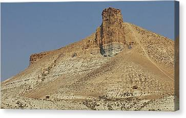 Rock Formations Of Wyoming Canvas Print by Bruce Bley