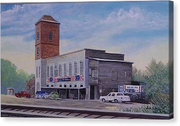 Rock Hill Feed And Supply  Sold Canvas Print