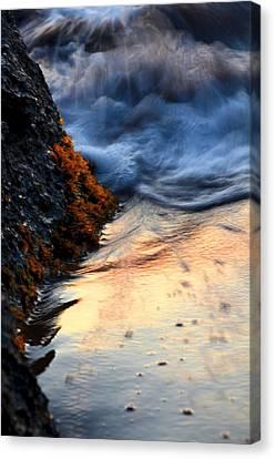 Rock Sunset Canvas Print