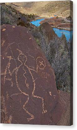 Canvas Print featuring the photograph Rock Warrior by Britt Runyon