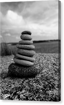 Rock Zen Canvas Print by Kami McKeon