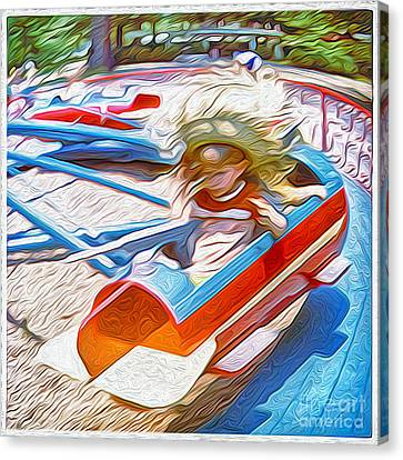 Rocket Ride Canvas Print by Gregory Dyer