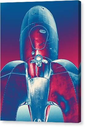 Rocket Ship 2 Canvas Print by Samuel Sheats