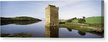 Western Ma Canvas Print - Rockfleet Castle, Clew Bay, Co Mayo by The Irish Image Collection