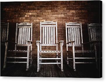 Rocking Chairs Canvas Print