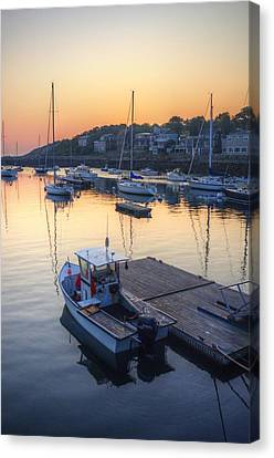 Rockport Dawn Canvas Print by Matthew Green