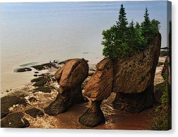 Rocks Of Ages Canvas Print