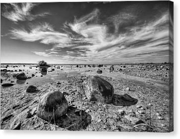 Canvas Print featuring the photograph Rockscape by Coby Cooper