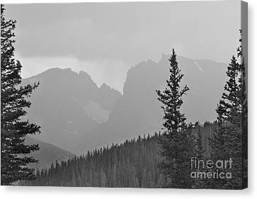 Rocky Mountain High Bw Canvas Print by James BO  Insogna