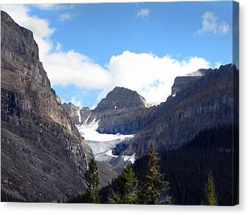 Rocky Mountain Pass Canvas Print