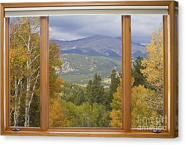 Awesome Canvas Print - Rocky Mountain Picture Window Scenic View by James BO  Insogna