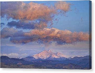 Rocky Mountain Sunrise Canvas Print by James BO  Insogna