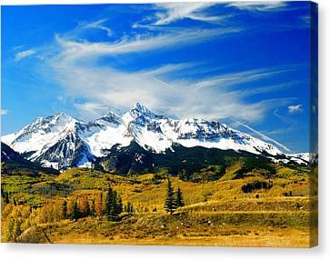Rocky Mt. High Canvas Print