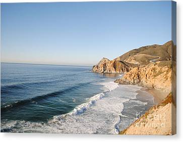 Rocky Pacific Coast Canvas Print
