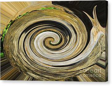 Canvas Print featuring the photograph Rocky Road by Cindy Manero