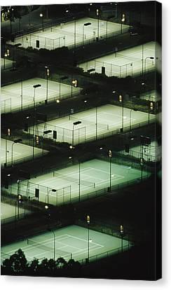 Rod Laver Arena Tennis Complex Canvas Print by Jason Edwards
