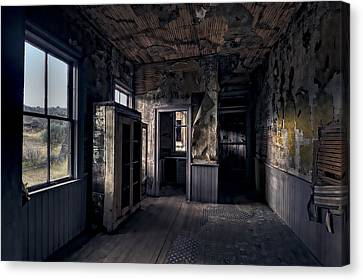 Bannack Montana Canvas Print - Roe - Graves House Kitchen Of Bannack Ghost Town - Montana by Daniel Hagerman