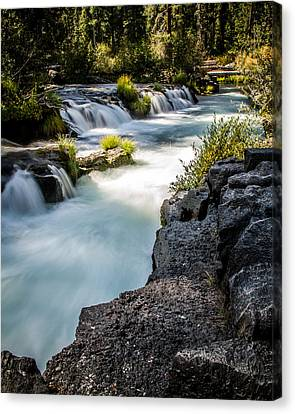 Canvas Print featuring the photograph Rogue River - 2 by Randy Wood