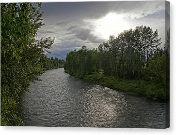 Rogue River In May Canvas Print