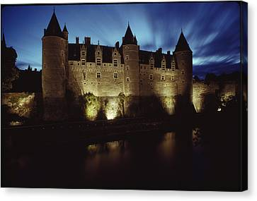 Rohan Castle, Occupied By The Rohan Canvas Print by James L. Stanfield