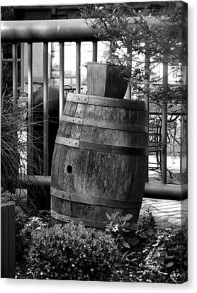 Roll Out The Barrel Canvas Print by Shelley Blair
