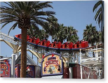Roller Coaster - 5d17628 Canvas Print