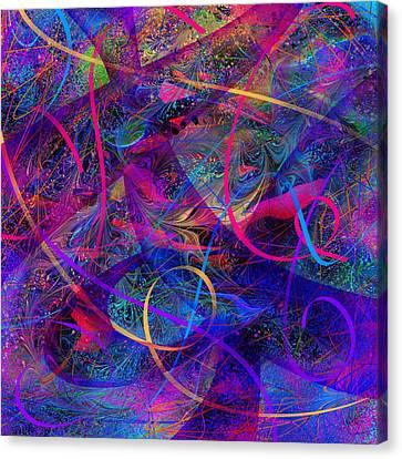 Roller Coaster Canvas Print by Rachel Christine Nowicki