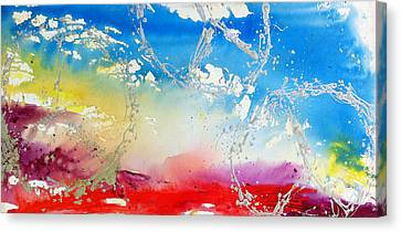 Rolling Peaceful Landscape Canvas Print