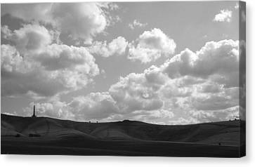 Rolls And Dips Canvas Print by Michael Standen Smith