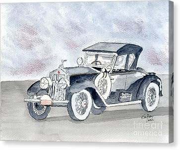 Rolls Royce 1923 Canvas Print by Eva Ason