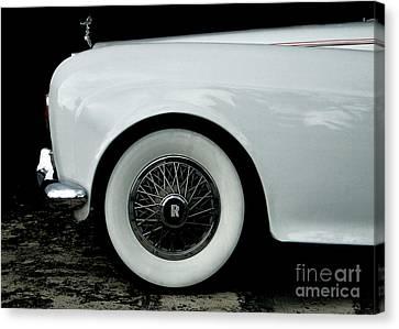 Rolls Royce Canvas Print by Jose Luis Reyes