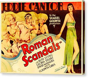 Roman Scandals, Eddie Cantor, 1933 Canvas Print by Everett