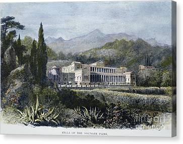 Roman Villa Canvas Print by Granger