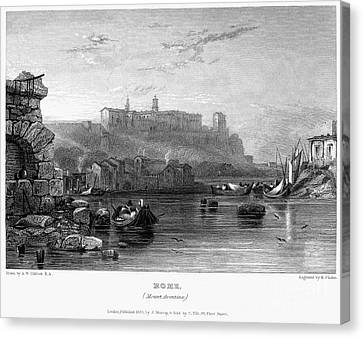 Rome: Aventine Hill, 1833 Canvas Print by Granger