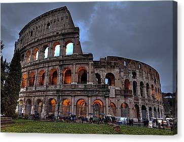 Rome Colosseum Canvas Print by Joana Kruse