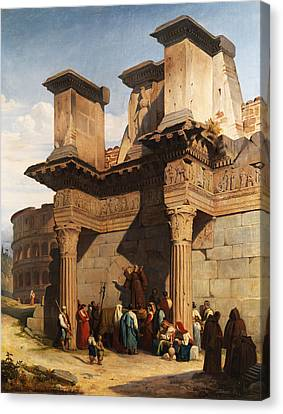 Rome Forum Canvas Print