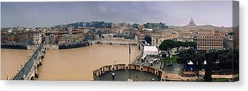 Rome Panorama Canvas Print by Shevi