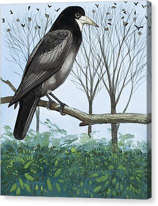 Rook Canvas Print by English School