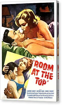 Room At The Top, Simone Signoret Canvas Print by Everett