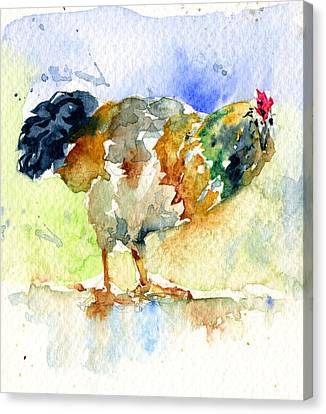 Rooster 1 Canvas Print by John D Benson