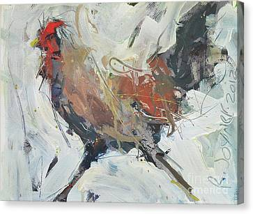 Rooster Art  Canvas Print by Robert Joyner