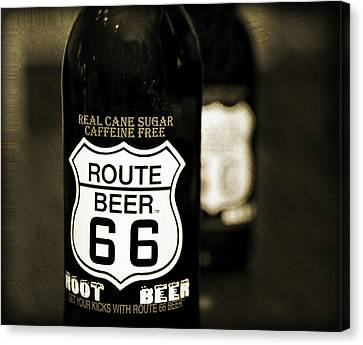 Root Beer Canvas Print by Malania Hammer