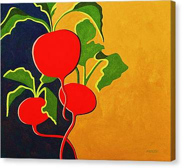 Roots 2 Canvas Print by Peggy Wrobleski